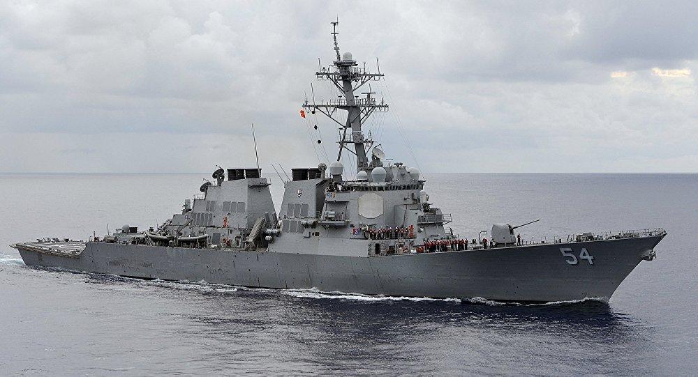 EUA enviam dois navios de guerra ao estreito de Taiwan