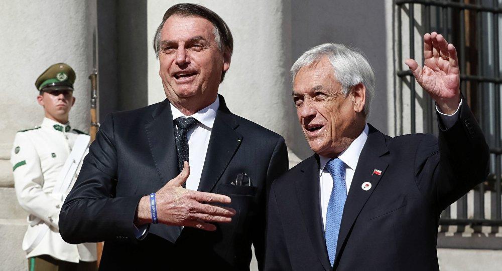 'Frases de Bolsonaro sobre ditadura são infelizes', diz presidente do Chile