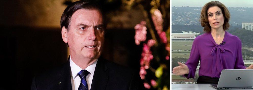 Bolsonaro censura Globo, Valor, Estado, Folha e UOL em coletiva