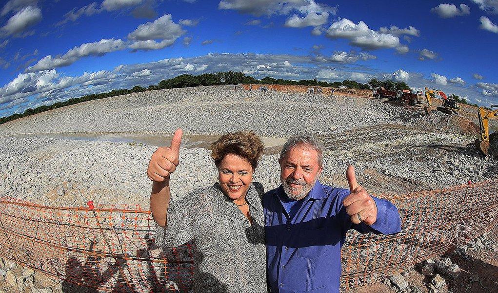 Teixeira lembra Bolsonaro que transposição do São Francisco é obra de Lula e Dilma
