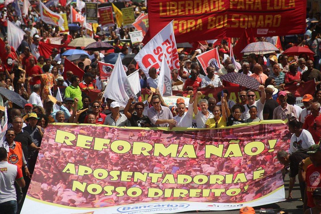 Previdência traz o povo progressista e de esquerda de volta às ruas