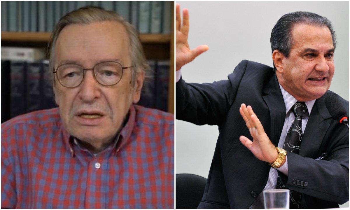 Olavo de Carvalho e Silas Malafaia: pesos-pesados do bolsonarismo em guerra