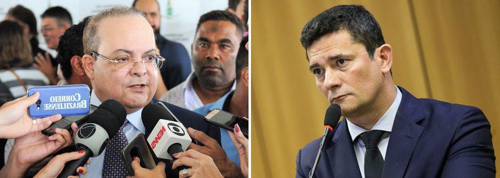 Governador do DF critica falta de conhecimento de Moro sobre segurança