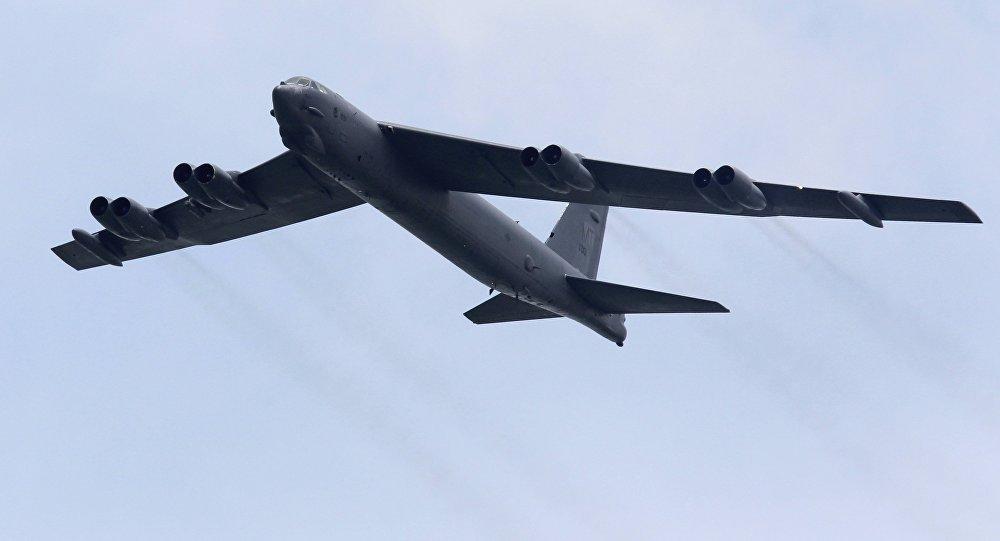 Caças russos Su-27 escoltaram 2 bombardeiros estratégicos dos EUA nas últimas 24 horas