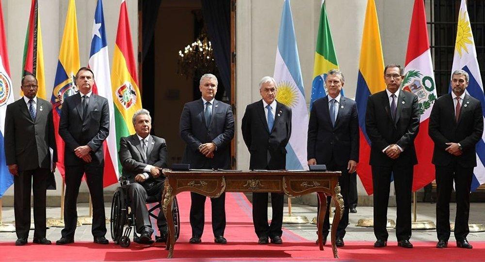 Bloco contra Venezuela foi criado a mando de Washington