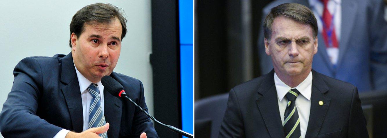 Governo Bolsonaro é um deserto de ideias, diz Rodrigo Maia