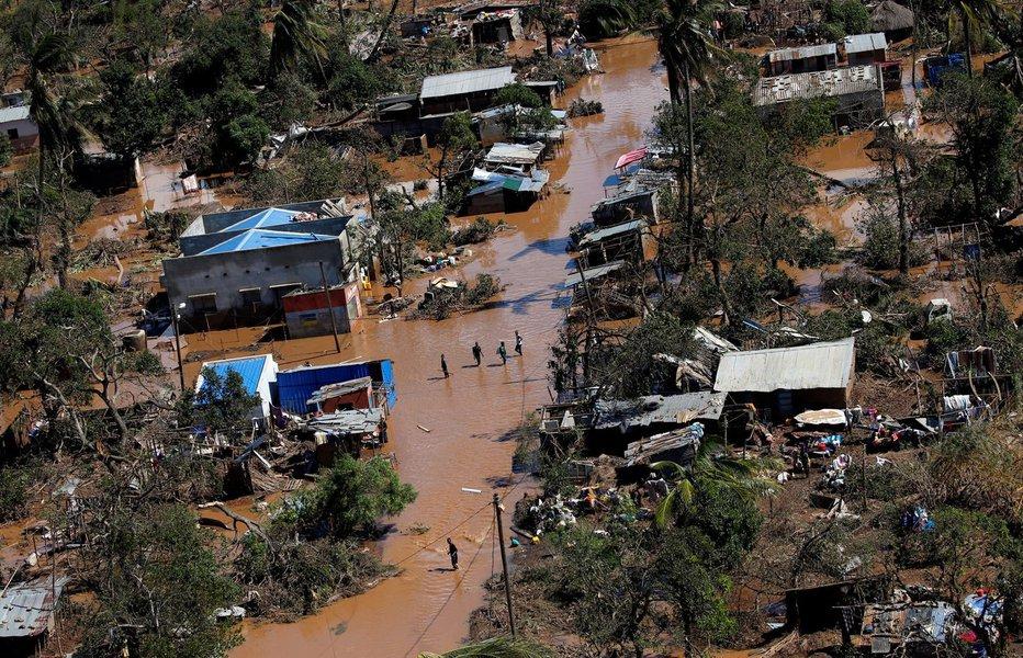 Região afetada por ciclone em Moçambique registra casos de cólera