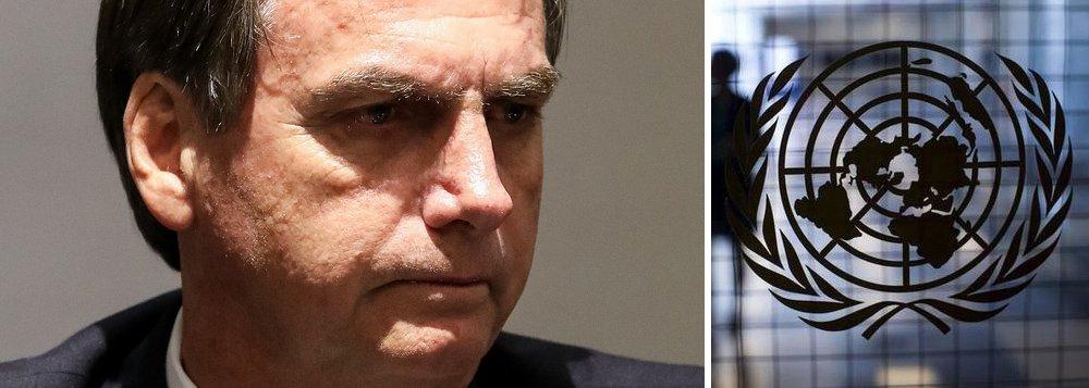 Bolsonaro viola tradição diplomática e vota contra palestinos na ONU