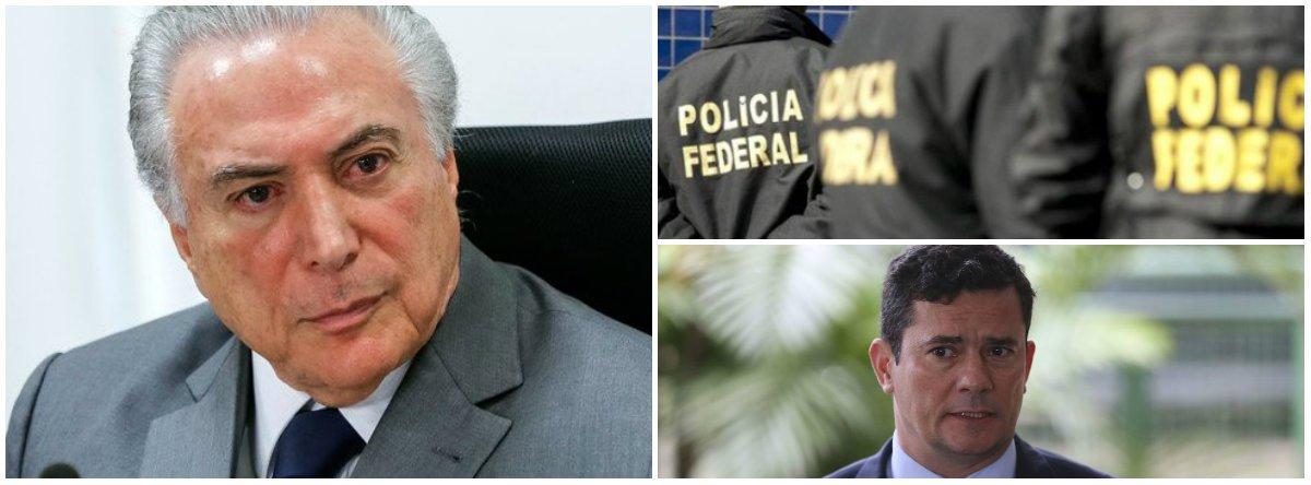 Kiko Nogueira: com prisão de Temer, Lava Jato e Moro tentam sair das cordas