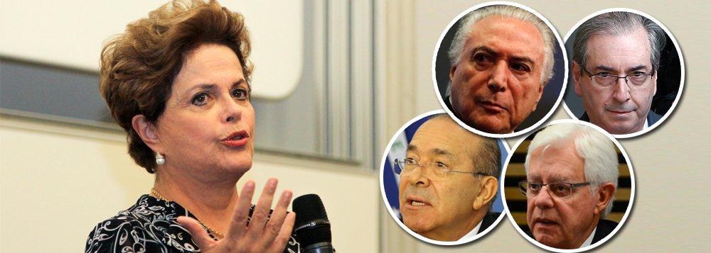 Prisão de Temer confirma: Dilma foi golpeada pela quadrilha mais perigosa do Brasil