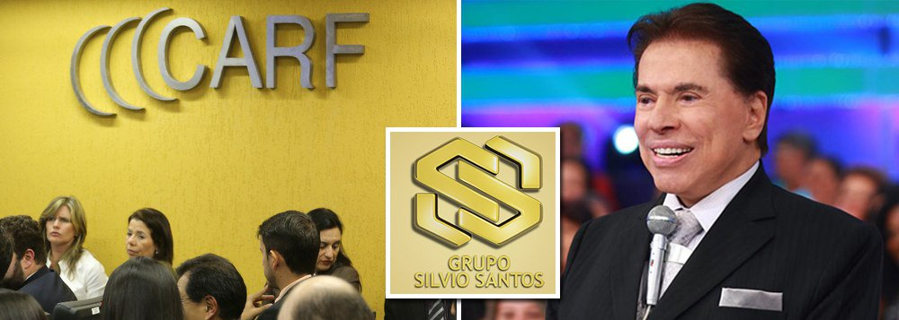 Carf mantém cobrança de R$ 900 mi ao grupo Silvio Santos