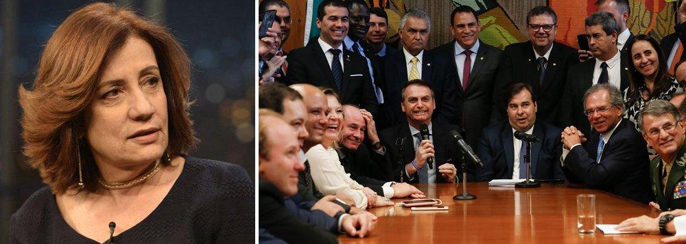 Miriam Leitão: privilégios dados aos militares ameaçam reforma da Previdência
