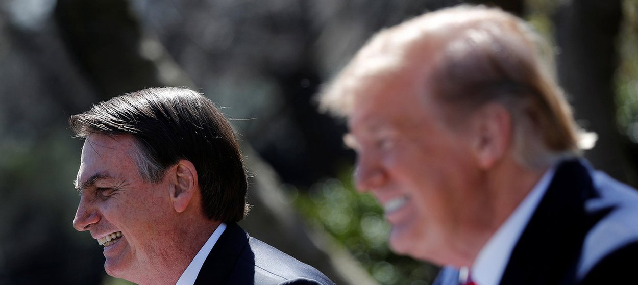 A trágica viagem de Bolsonaro aos EUA