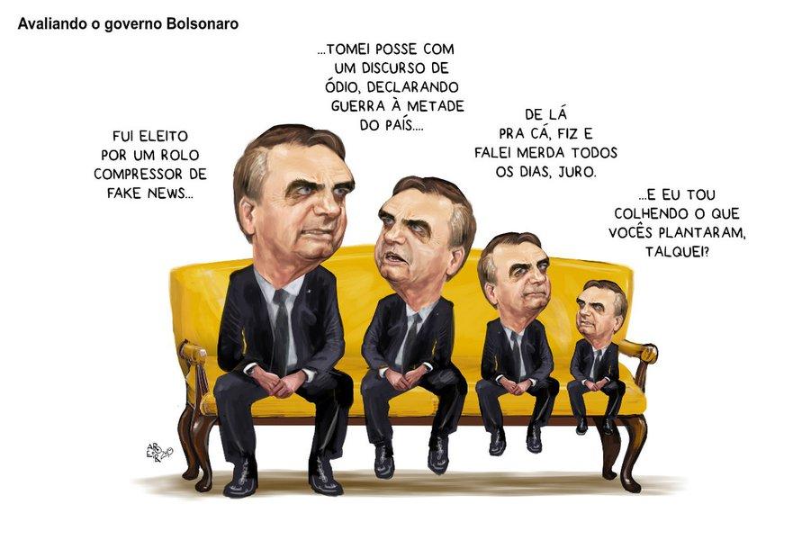 Aroeira explica por que Bolsonaro derreteu