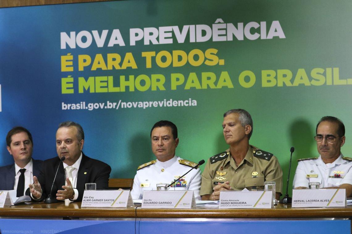 Reforma para militares prevê gerar economia de apenas 1% do R$ 1 tri previsto