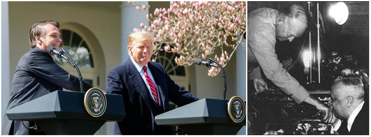 De dom João VI a Trump, o nosso eterno beija-mão