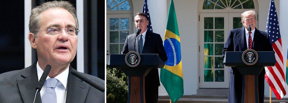 Renan Calheiros: precisamos defender a soberania do Brasil