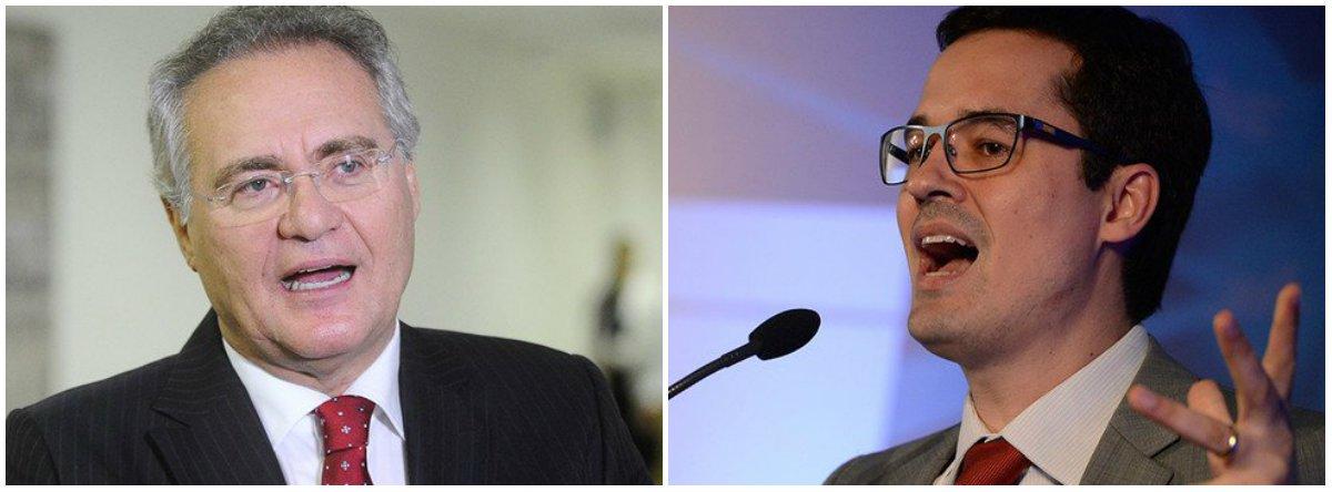 Renan entra com representação contra Dallagnol no CNMP por 'campanha política'
