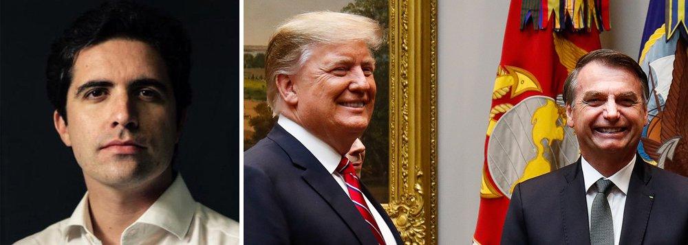 Mello Franco: em encontro com Trump, Bolsonaro só faltou pedir autógrafo