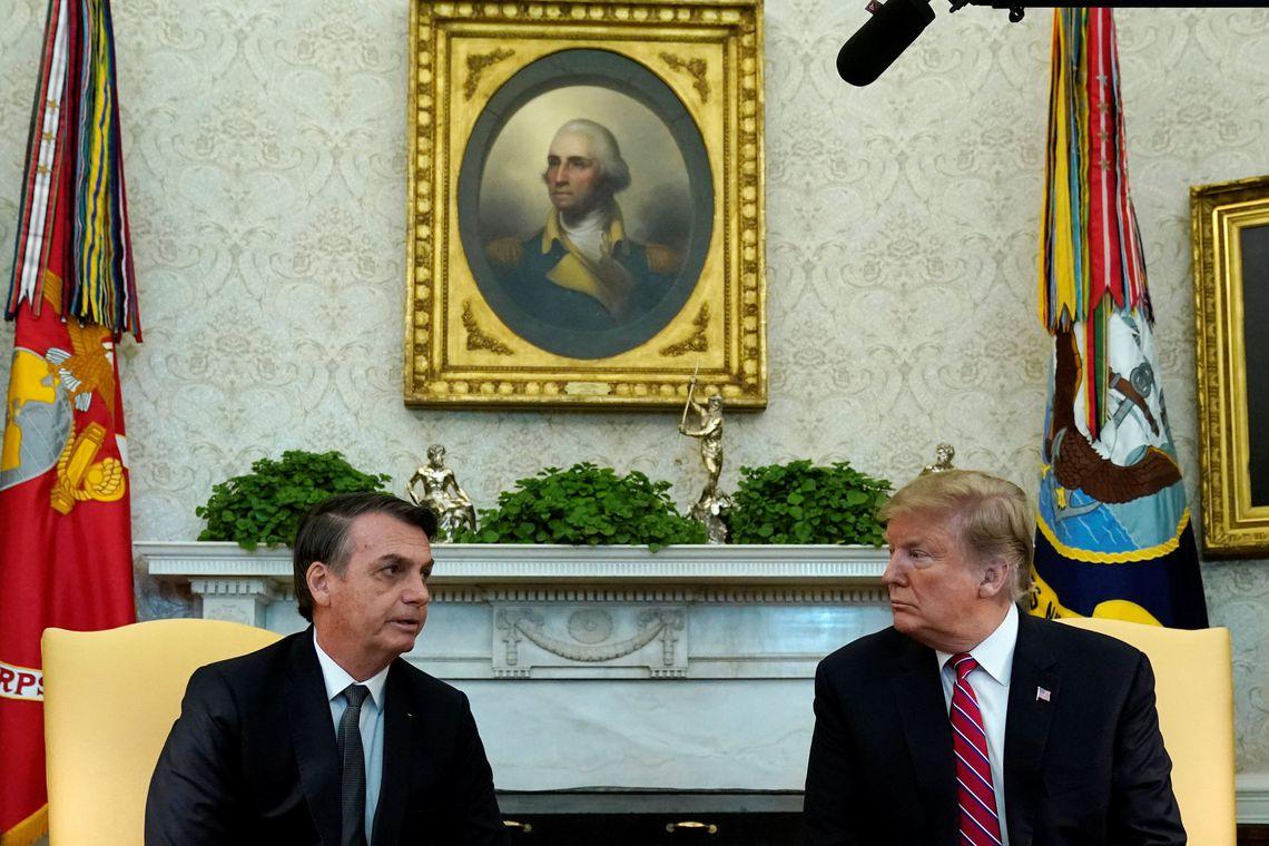 'Relação com o Brasil nunca foi melhor', diz Trump