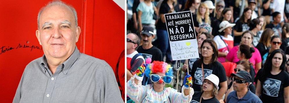 Miguel Torres, da Força Sindical: trabalhamos rumo a uma greve geral