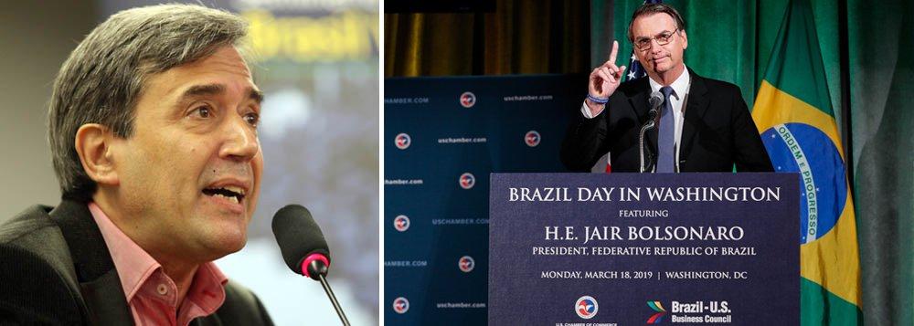 Villa: viagem de Bolsonaro aos EUA é desastrosa