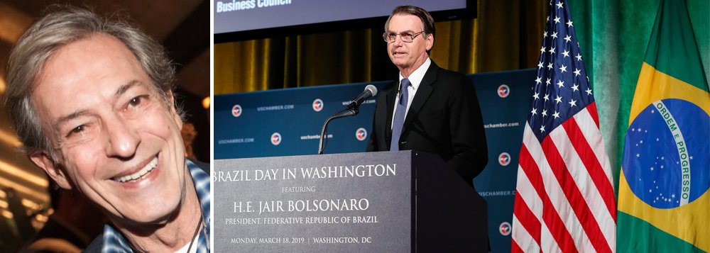 Zé Simão: Encontro de Bolsonaro com Trump é coisa de 'trumpalhões'