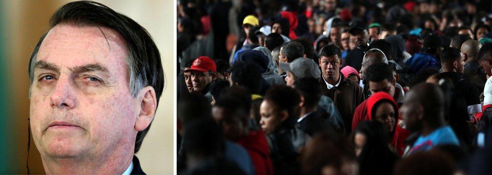 Gallup: brasileiros nunca foram tão infelizes. E a situação deve piorar