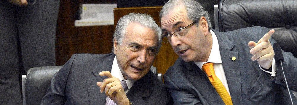 Cunha comemora prisão de Temer