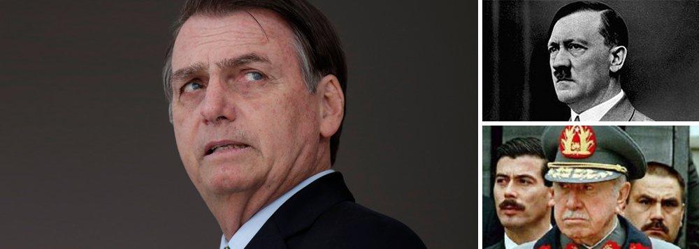 Bolsonaro é comparado a Hitler no Chile