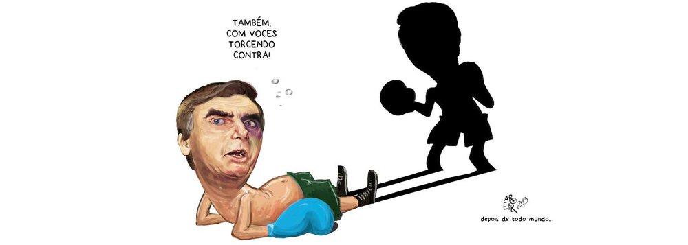 Aroeira: Bolsonaro é nocauteado pela própria sombra e culpa oposição