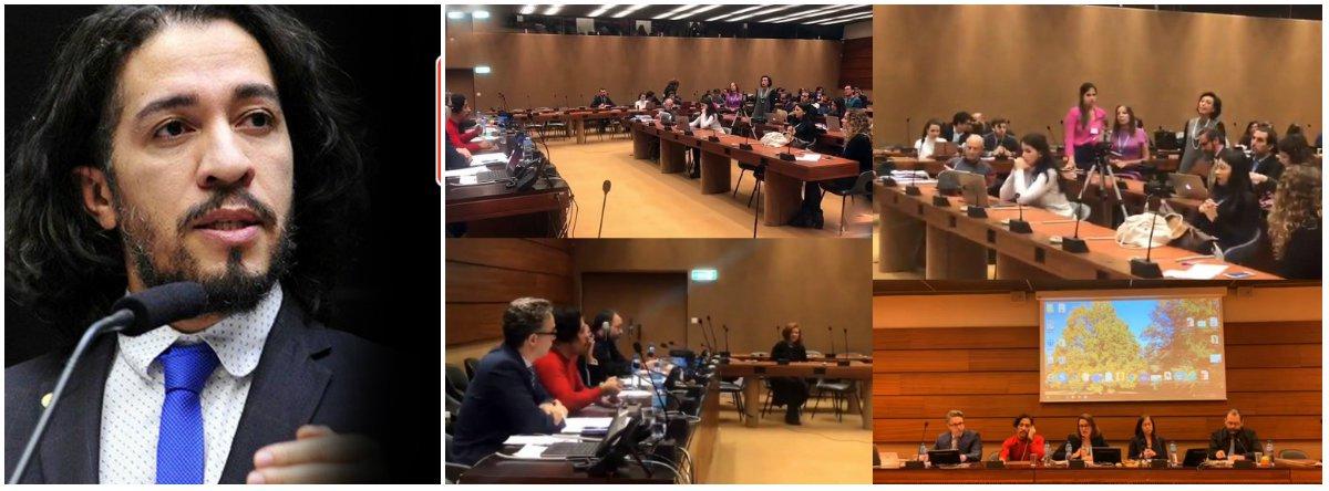 """""""Foi um vexame"""", diz Jean Wyllys sobre bate-boca com embaixadora do Brasil na ONU"""