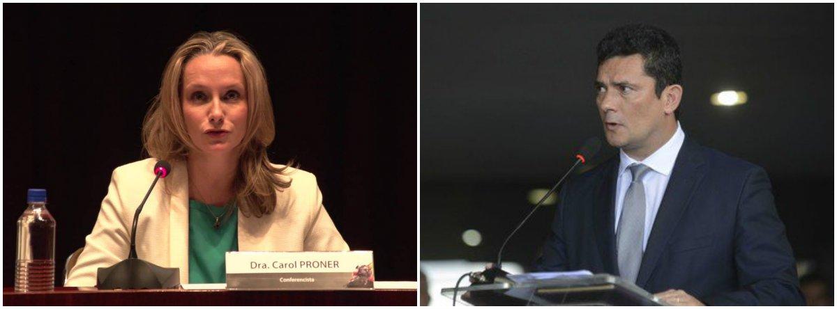 Carol Proner: Moro terá que explicar cooperações internacionais
