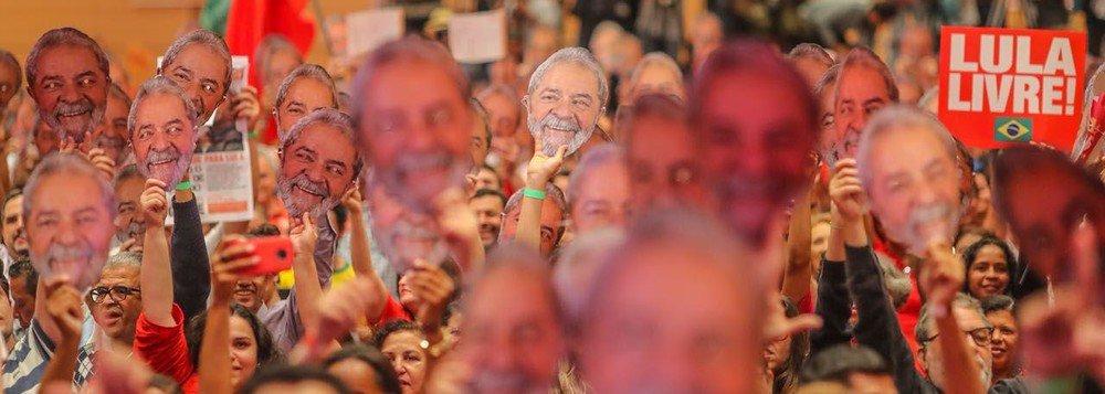 Lula: prometi ao Arthur que não vou descansar até ter minha inocência reconhecida