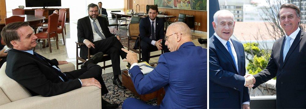 Israel confirma ida de Bolsonaro e diz que ele sabe o que fazer sobre embaixada