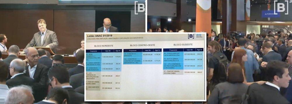 Governo Bolsonaro entrega aeroportos para estrangeiros