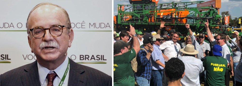 Agronegócio 'Jair se arrependeu' por apoiar Bolsonaro