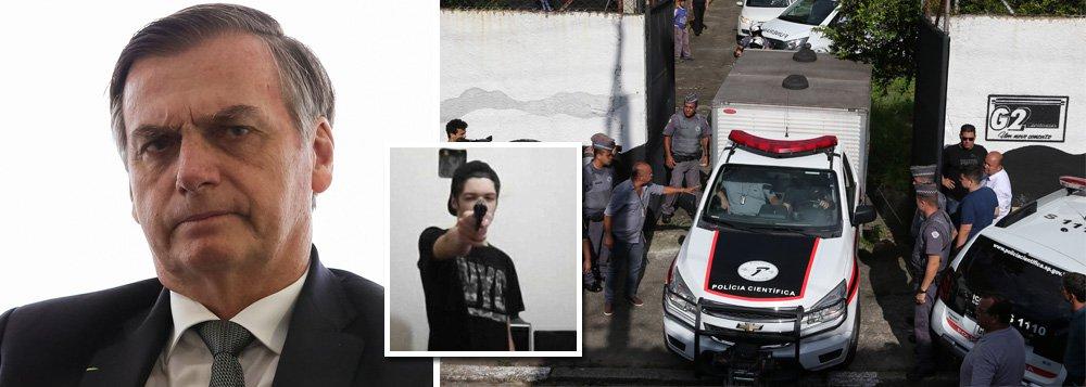 Bolsonaro contamina jovens como o atirador de Suzano