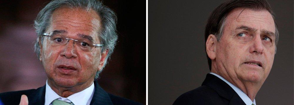 Governo Bolsonaro em crise: Paulo Guedes já ameaça pedir demissão