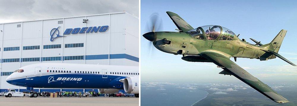 Venda da Embraer para a Boeing também pode incluir aviões militares