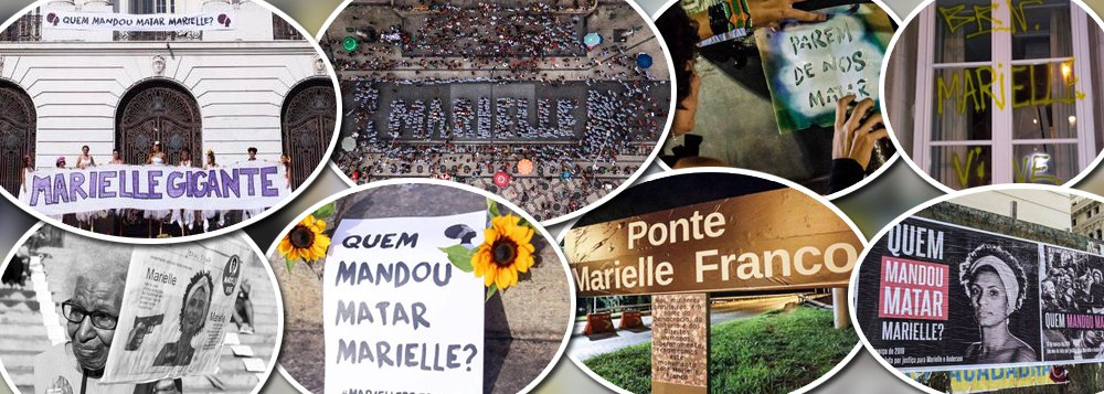 Manifestações no Brasil e no exterior cobram respostas do assassinato de Marielle