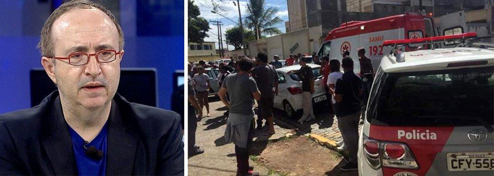 Reinaldo aponta responsabilidade política de Bolsonaro pelos mortes de Suzano