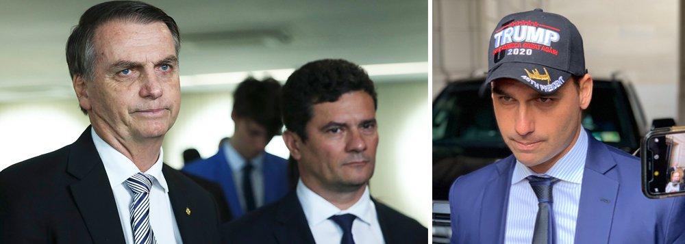 Bolsonaro e Moro vão à CIA, agência de espionagem dos EUA, em agenda que era mantida em sigilo