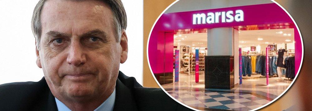Retrato do Brasil de Bolsonaro: Marisa fecha 18 lojas