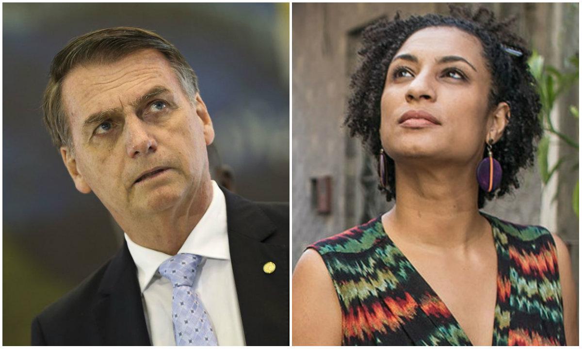 Por que Bolsonaro não dá a devida importância ao caso Marielle e Anderson?