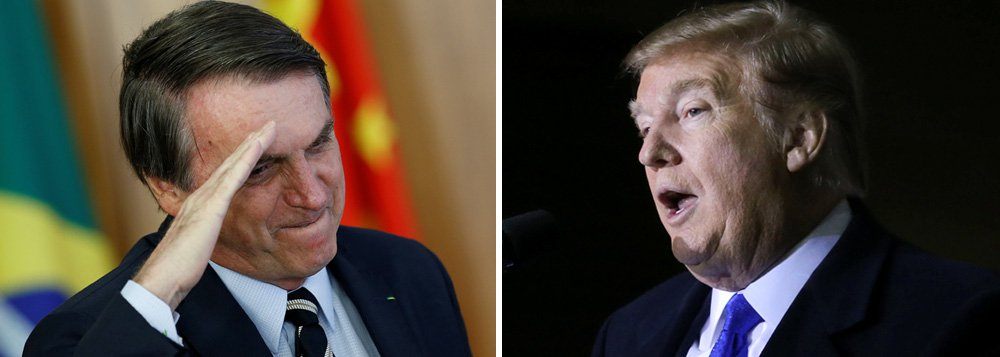 Trump exige de Bolsonaro um Brasil colonizado