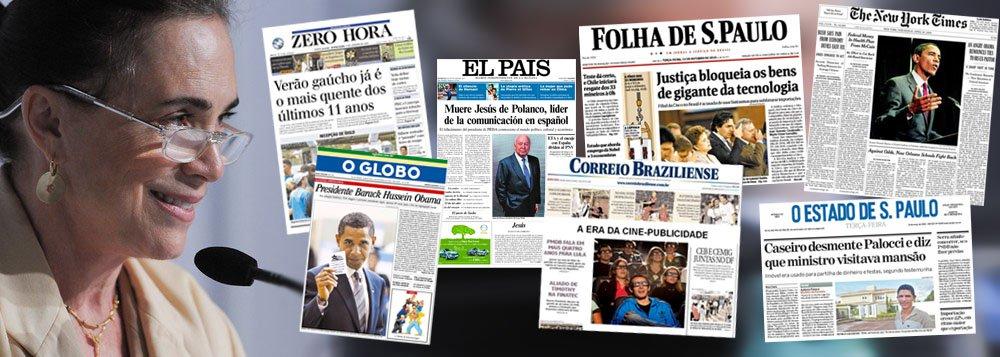 Com medo e Regina Duarte, mídia debate seu futuro