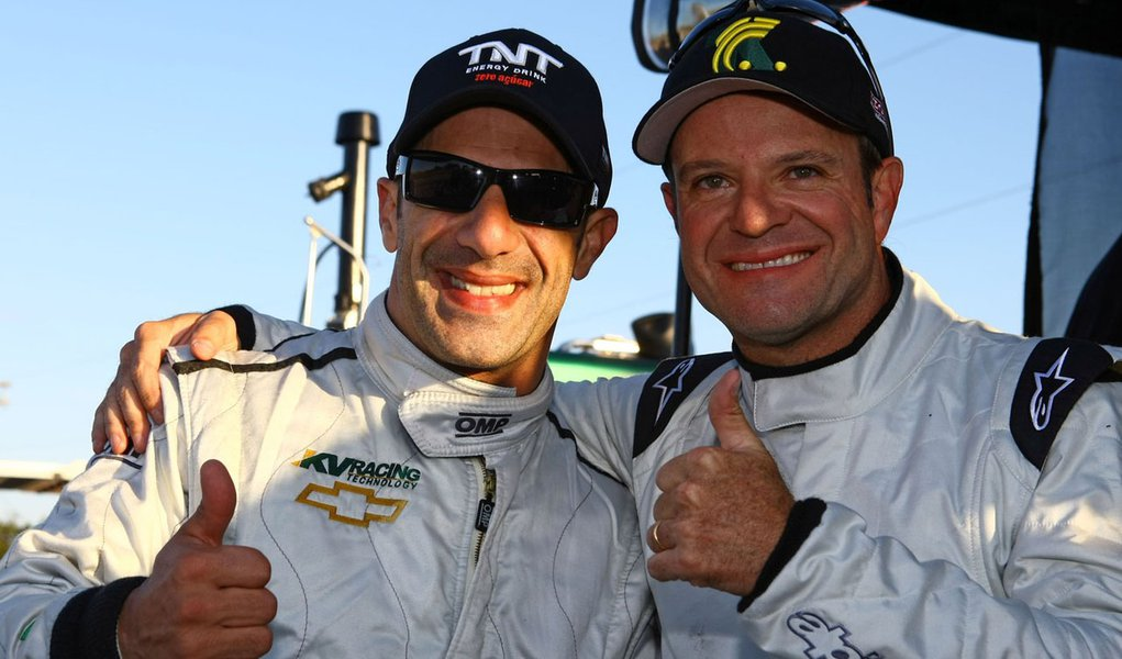 Barrichello faz mais um teste na Fórmula Indy