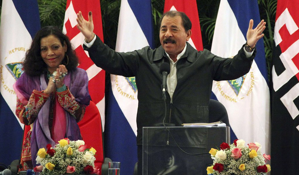 Vitória de Ortega é confirmada na Nicarágua