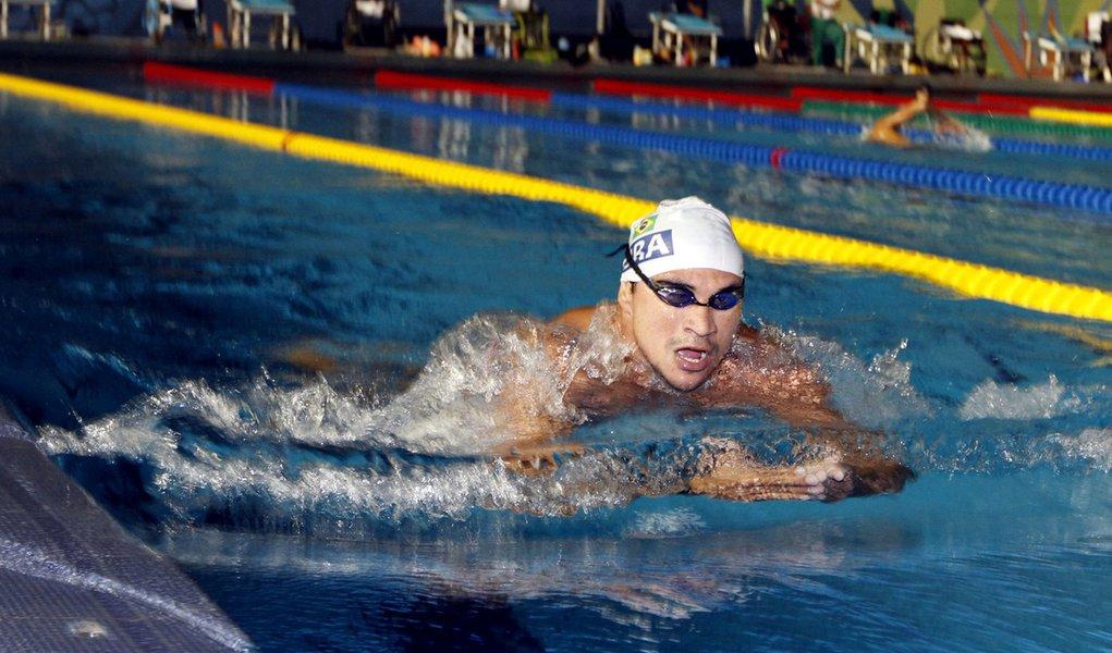 Nadadores brasileiros lideram Parapan com seis medalhas